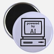 Powered By Artificial Intelligence Magnet