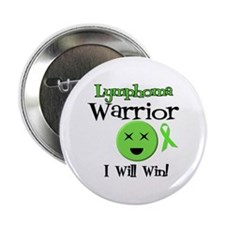 "Lymphoma Warrior 2.25"" Button (10 pack)"