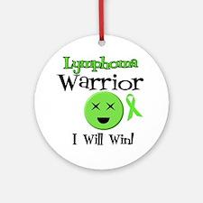 Lymphoma Warrior Ornament (Round)