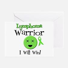 Lymphoma Warrior Greeting Cards (Pk of 10)