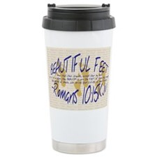 Feet of BeautyTM Travel Mug