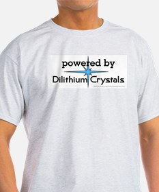 Powered By Dilithium Crystals T-Shirt
