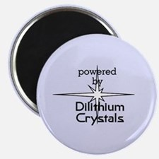 Powered By Dilithium Crystals Magnet