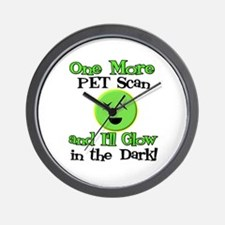 One More PET Scan Wall Clock