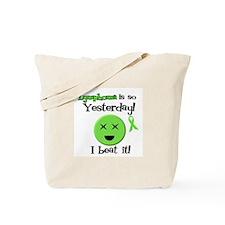 Lymphoma So Yesterday Tote Bag