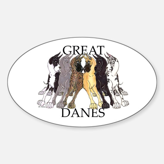 6C Lean GDs Oval Decal