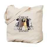Great dane Regular Canvas Tote Bag