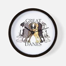 6C Lean GDs Wall Clock