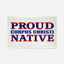 Corpus Christi Native Rectangle Magnet
