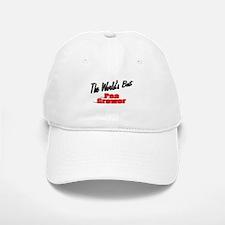 """""""The World's Best Pea Grower"""" Baseball Baseball Cap"""