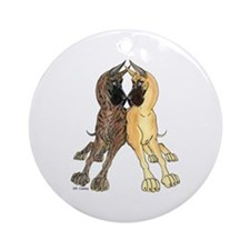 CCFBrdl Lean Ornament (Round)