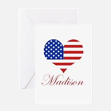 American Madison Greeting Card
