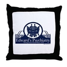 Edward's Psychiatry Throw Pillow