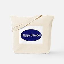 Funny Happy camper Tote Bag