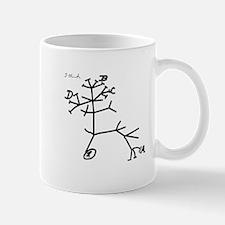 Darwin's Tree Small Small Mug