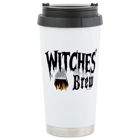 Witches Brew H Stainless Steel Travel Mug