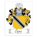 Capua Family Crest Small Poster
