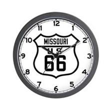 Route 66 Old Style - MO Wall Clock