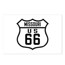 Route 66 Old Style - MO Postcards (Package of 8)