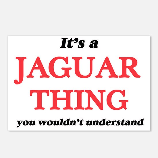 It's a Jaguar thing, Postcards (Package of 8)