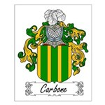 Carbone Family Crest Small Poster