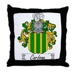 Carbone Family Crest Throw Pillow