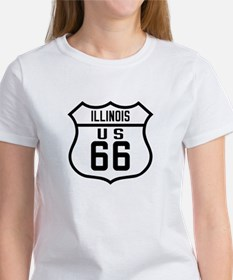 Route 66 Old Style - IL Tee