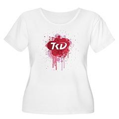 TKD Splatter Pink T-Shirt