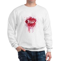 TKD Splatter Pink Sweatshirt