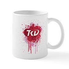 TKD Splatter Pink Mug