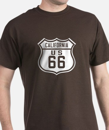 Route 66 Old Style - CA T-Shirt