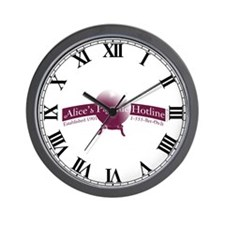 Alice's Psychic Hotline Wall Clock