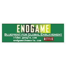 Endgame bumper sticker