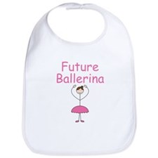 Future Ballerina (Brown) :: Bib