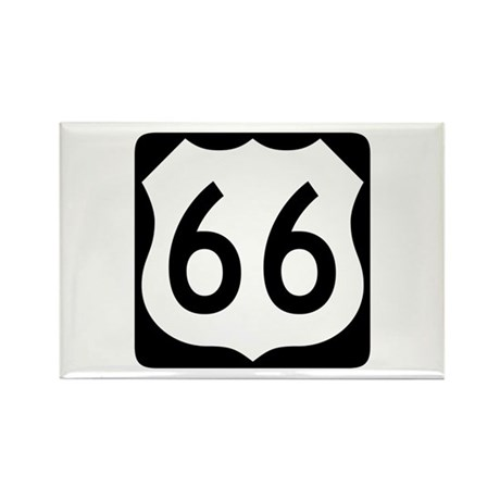 R-66 New Style Rectangle Magnet (100 pack)
