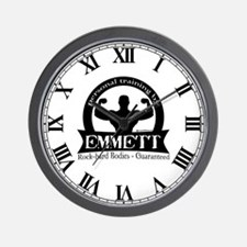 Personal Training by Emmett Wall Clock