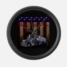 It's The American Way Large Wall Clock