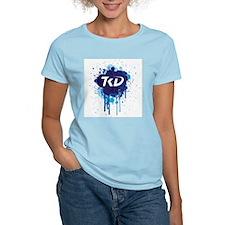 TKD Splatter Blue T-Shirt