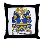 Caruso Family Crest Throw Pillow