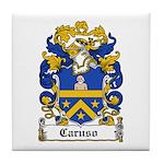 Caruso Family Crest Tile Coaster