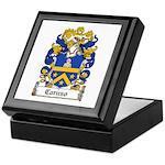 Caruso Family Crest Keepsake Box