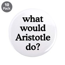 "Aristotle 3.5"" Button (10 pack)"