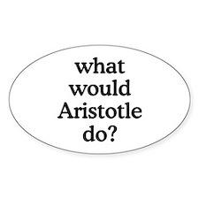 Aristotle Oval Decal