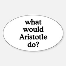 Aristotle Oval Decal