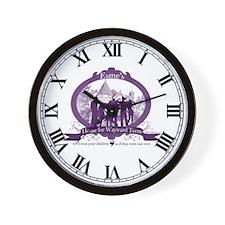 Esme's House for Wayward Teens Wall Clock