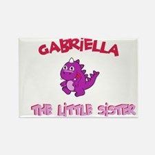 Gabriella - Dinosaur Sister Rectangle Magnet