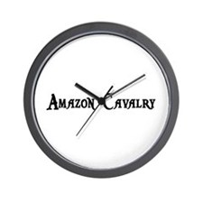 Amazon Cavalry Wall Clock