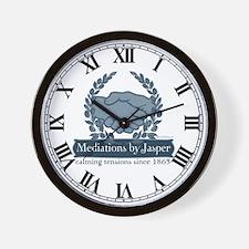 Mediations by Jasper Wall Clock