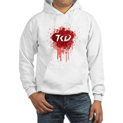 TKD Splatter Red Hoodie