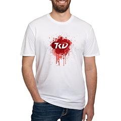 TKD Splatter Red Shirt